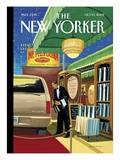 A Soupcon of Ethyl - The New Yorker Cover, October 10, 2005 Regular Giclee Print by Bruce McCall
