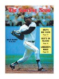 San Francisco Giants OF Willie McCovey - August 9, 1969 Premium Photographic Print