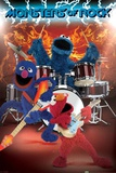 Sesame Street - Monsters of Rock Print