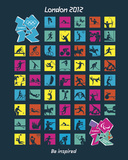 London 2012 Olympics-Pictograms Pósters