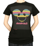 Juniors: Deadmau5 - Lite-Brite Logo T-shirts