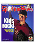 Houston Astros Pitcher Roy Oswalt - August 27, 2001 Posters