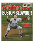 Boston Red Sox RP Jonathan Papelbon - World Series Champions - November 5, 2007 Prints