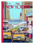 Have a Nice Day - The New Yorker Cover, March 7, 1994 Regular Giclee Print by Bruce McCall