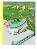 Bronx Cheer - The New Yorker Cover, October 18, 1993 Regular Giclee Print by Bruce McCall