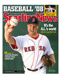 Red Sox Boston RP Jonathan Papelbon - March 17, 2008 Poster