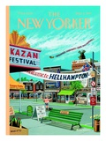 Welcome to Hellhampton - The New Yorker Cover, September 6, 1999 Regular Giclee Print by Bruce McCall