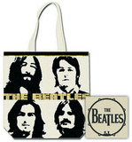 The Beatles -Headshot Sac cabas