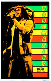 Bob Marley - Stripes Poster