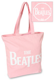 The Beatles - Drop T Logo Pink Tote Bag
