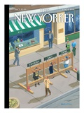 Moral Guidance - The New Yorker Cover, June 6, 2011 Regular Giclee Print by Bruce McCall