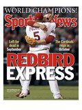 St. Louis Cardinals' Albert Pujols and Scott Rolen - November 10, 2006 Posters