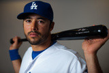 Glendale, AZ - March 2: Los Angeles Dodgers Photo Day - A.J. Ellis Photographie par Rob Tringali