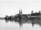Panorama of Regensburg Photographic Print by  Scherl
