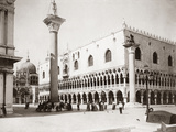 St. Mark's Square in Venice, 1907 Photographic Print by  Scherl