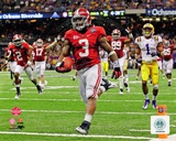 Trent Richardson University of Alabama Crimson Tide 2012 BCS Championship Touchdown Photo