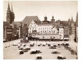 Main Market in Nuremberg, 1902 Photographic Print by  Scherl