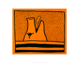 Sans titre, 1980 Reproduction proc&#233;d&#233; gicl&#233;e par Keith Haring
