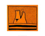 Sans titre, 1980 Reproduction procédé giclée par Keith Haring