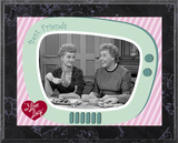 I Love Lucy - Having Tea plaque Prints