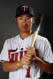 Fort Myers, FL - February 27: Minnesota Twins Photo Day - Phil Dumatrait Photographic Print by Elsa .