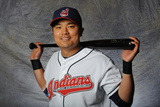 Goodyear, AZ - February 28: Cleveland Indians photo day - Kevin Slowey Photographic Print by Rich Pilling