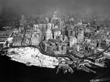 Overview of Manhattan in New York, 1929 Photographic Print by Scherl 