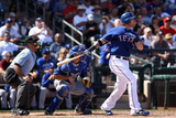 Surprise, AZ - March 09: Los Angeles Dodgers v Texas Rangers - Josh Hamilton Photographic Print by Christian Petersen