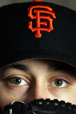 Scottsdale, AZ - March 01: San Francisco Giants Photo Day - Barry Zito Photographic Print by Jamie Squire