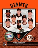 San Francisco Giants 2012 Team Composite Photo