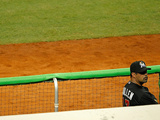 Miami, FL - March 06: Miami v Miami Marlins - Mark Buehrle Photographic Print by Mike Ehrmann