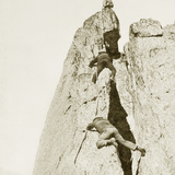 Climbers on the Mont Blanc, 1908 Photographic Print by Scherl