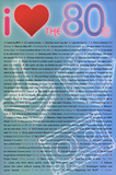 I Love the 80s Greatest Quotes Movie Poster Print Plakat