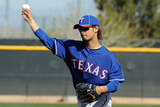 Surprise, AZ - February 23: Yu Darvish Workout - Yu Darvish Photographic Print by Norm Hall