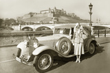 Mercedes-Benz Convertible 'Mannheim', 1932 Photographic Print by  Scherl