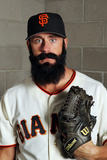 Scottsdale, AZ - March 01: San Francisco Giants Photo Day - Brian Wilson Photographie par Jamie Squire