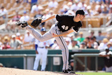Glendale, AZ - March 29: Chicago White Sox v Los Angeles Dodgers - Chris Sale Photographie par Christian Petersen