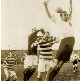 Soccer Match Between Scotland and Germany, 1922 Photographic Print by  Scherl