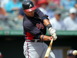 Jupiter, FL - March 12: Atlanta Braves v St Louis Cardinals - Carlos Beltran Photographic Print by Marc Serota