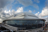 Miami, FL - December 09: Miami Marlins Ballpark - Exterior Fotografie-Druck von Mike Ehrmann