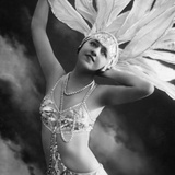Marielle Kahna, Revue Dancer, 1927 Photographic Print by  Scherl