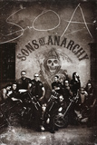 Sons of Anarchy Group TV Poster Print Posters