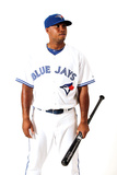 Dunedin, FL - March 02: Toronto Blue Jays Photo Day - Jose Bautista Photographic Print by Jonathan Ferrey