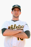 Phoenix, AZ - February 27: Oakland Athletics Photo Day - Brandon McCarthy Photographic Print by Christian Petersen