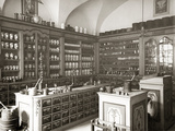 Historical Pharmacy Photographic Print by Scherl