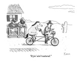 """It jes' ain't natural."" - New Yorker Cartoon Premium Giclee Print by Zachary Kanin"