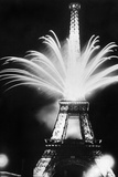 Fireworks During the World Exhibition in Paris, 1937 Photographic Print by  Scherl
