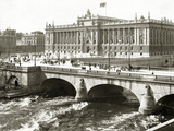 The Swedish Parliament, 1909 Photographic Print by  Scherl