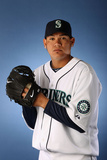 Peoria, AZ - February 21: Seattle Mariners Photo Day - Miguel Olivo Photographic Print by Christian Petersen