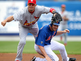 Port St. Lucie, FL - March 13: St Louis Cardinals v New York Mets - Mike Pelfrey Photographic Print by Marc Serota